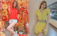 Sao Việt mê đồ local brand giá rẻ: Thiều Bảo Trâm diện nguyên set váy hot trend 520k, Linh Ka sắm áo Tết 320k
