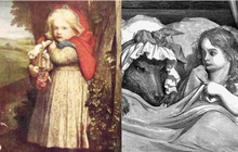 Nguyên bản truyện cổ tích Cô bé quàng khăn đỏ: Đầy yếu tố bạo lực và đen tối, còn có chi tiết rợn người hệt như trong Tấm Cám