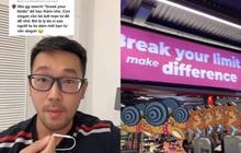 Thầy giáo IELTS bắt lỗi slogan tiếng Anh của phòng gym, ai ngờ bị dân mạng phản dame, cách giải thích mới bất ngờ