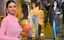 Selena Gomez đi dạo sương sương mà chốt luôn đơn áo khoác Louis Vuitton 150 triệu, đúng là đẳng cấp chị đẹp giàu sang