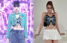 Cùng một chiếc áo: Ngọc Trinh hở bạo khiến netizen đỏ mặt, nhìn sang Lisa thấy chất ngầu, level khác hẳn
