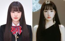 """Ảnh thẻ của tân binh để tóc mái đẹp nhất Kpop chỉ sau Lisa (BLACKPINK): Visual như búp bê, nhan sắc chấp luôn camera """"dìm"""""""
