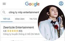 """Sơn Tùng vừa ra mắt MV mới, công ty M-TP Entertainment lại bất ngờ """"bay màu"""" trên Google, chuyện gì xảy ra?"""