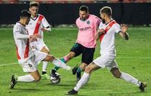 Messi tỏa sáng rực rỡ ngày trở lại giúp Barca ngược dòng vào Tứ kết cúp Nhà Vua