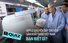 Những điều ít ai biết về việc Apple chuyển dây chuyền sản xuất sang Việt Nam