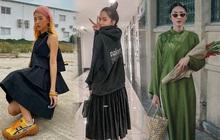 """Instagram look của sao Việt tuần qua: Đồ đen """"chiếm sóng"""", riêng Hà Tăng khoe khí chất cao sang với áo dài"""