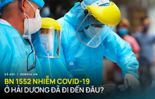 Infographic: BN1552 là em chồng ca mắc Covid-19 tại Nhật Bản, có lịch trình di chuyển dày đặc