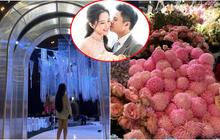 Hé lộ không gian tiệc cưới cả chục tỷ của thiếu gia Phan Thành: Sang chảnh, lấp lánh và ngập tràn hoa tươi