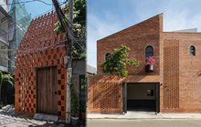 6 ngôi nhà Việt có mặt tiền toàn gạch, nhìn giản dị nhưng đúng là càng ngắm lại càng mê