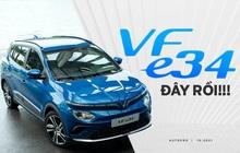 Ra mắt VinFast VF e34 - Xe điện hot nhất Việt Nam sẵn sàng lăn bánh trên đường phố