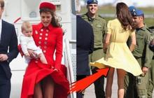 """Để tránh """"lộ hàng"""", nữ nhân Hoàng gia Anh chơi hẳn chiêu độc bằng 1 món đồ của... gymer!"""