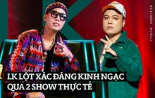 LK lột xác đáng kinh ngạc chỉ trong 1 năm: Mũm mĩm ở King Of Rap, qua Rap Việt thì ốm nhom khiến Karik bất ngờ