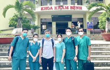 """""""Bác sĩ 91"""" lại rời tâm dịch TP.HCM, đến hỗ trợ tỉnh Cà Mau điều trị bệnh nhân nhiễm Covid-19"""