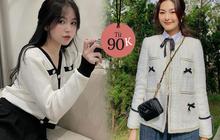 Dàn hot girl Việt diện đủ loại áo khoác xinh đón gió lạnh, chị em sắm được cardigan, blazer... giống vậy giá chỉ từ 90k