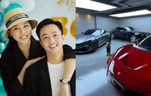 Cường Đô La khoe được vợ tặng quà đắt đỏ kịp bắt trend nhưng gia tài xế hộp hơn 80 tỷ mới chiếm trọn spotlight