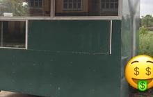 Trường học có phòng bảo vệ tưởng bình thường nhưng bỗng có thêm thứ này nhìn sang hẳn ra, học trò không mê mới lạ