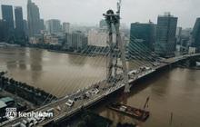 Chùm ảnh: Diện mạo mới của cầu Thủ Thiêm 2 nối liền thành phố Thủ Đức và quận 1