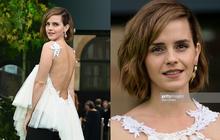 Emma Watson gây náo loạn thảm đỏ: Hở bạo hiếm hoi khoe cả mảng lưng trần, nhưng nhan sắc lại tuột dốc không phanh