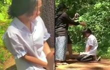 Xác minh vụ nữ sinh lớp 7 bị ép quỳ gối giữa rừng, tát liên tiếp, chảy máu mũi