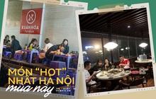 Món ăn mà dân tình Hà Nội mê nhất mùa này: Hàng quán đông nghịt, có nơi khách đặt kín lịch cả tuần