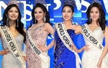 Sốc nặng nhan sắc dàn tân Hoa hậu Á hậu Hàn: Miss Universe đẹp hiếm có nay bị bóc trần, Miss World dọa khán giả khóc thét