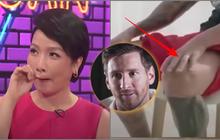 """VTV chế phát biểu Messi so chân ca sĩ Mỹ Linh to hơn chân mình, netizen nhíu mày: Là """"mặn"""" hay """"kém duyên"""" đây?"""