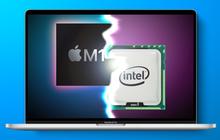 """Khoe sức mạnh của MacBook Pro mới, Apple không quên """"cà khịa"""" Intel?"""