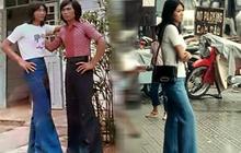 """Đây là hình phạt """"khóc xỉu"""" cho người Việt mặc quần ống loe ra đường, đọc lý do mà """"tứk'ss"""""""