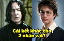 Té ra tác giả Harry Potter từng hé lộ cái kết khác, số phận thầy Snape và Harry có thể thay đổi 180 độ chỉ với một hành động nhỏ!