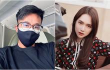 """Vừa thấy Matt Liu đăng ảnh trên máy bay, nick Facebook """"Huong Giang"""" vội vàng vào hỏi: """"Lại ra thăm chị à?"""""""