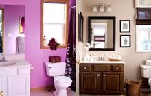 6 màn lột xác ngoạn mục cho phòng tắm chỉ bằng cách thay 2 chi tiết này, ai nhìn cũng muốn thử liền