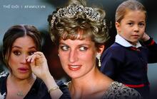 """Hé lộ """"báu vật gia truyền"""" của Công nương Diana chỉ dành cho nhà Kate, nhà Meghan không bao giờ có được"""