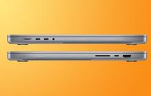 MacBook Pro mới dày và nặng hơn thế hệ cũ