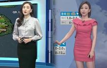 Để ý mới thấy thời trang của MC thời tiết Hàn Quốc và Việt Nam khác nhau một trời một vực luôn đấy