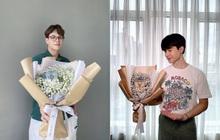 """Những ông bố nổi tiếng bất ngờ khoe loạt bó hoa """"vừa đẹp vừa ngon"""" gửi đến """"người ấy"""" nhân dịp 20/10, nhìn mà ghen tị!"""