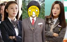 """U40, U50 rồi mà còn đóng học sinh, hội sao Hàn này khiến dân tình ngao ngán: Cỡ """"bà cả Mine"""" thì chịu rồi!"""