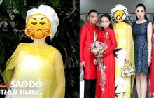 """Một Hoa hậu đi ăn cưới nhưng diện outfit """"chặt"""" cả cô dâu: Tinh tế thể hiện ở đâu?"""