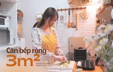 Bí kíp giữ căn bếp 3m2 lúc nào cũng gọn đẹp của cô gái Việt tại Nhật khiến chị em hâm mộ, từng cm đều được tận dụng triệt để