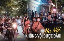 Hà Nội: Hồ Tây tắc cứng một đoạn đường dài vì dân tình xếp hàng chờ mua... kem