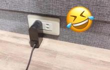 """Cắm sạc mãi không vào, người phụ nữ kiểm tra ổ điện thì phát hiện bí mật bao năm của chồng, netizen trầm trồ """"quá sức tưởng tượng"""""""