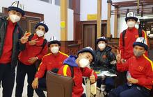 U23 Việt Nam chuẩn bị trang phục cực ấm để đối phó với thời tiết tại Kyrgyzstan