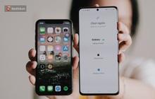Hướng dẫn chuyển dữ liệu từ iPhone sang điện thoại Galaxy cực đơn giản