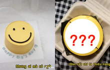 Đặt bánh sinh nhật mặt cười nhưng khi sản phẩm gửi đến, cô gái rớt nước mắt còn dân mạng thì mất hết niềm tin