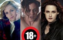 """5 vai diễn """"thoát xác Twilight"""" của Kristen Stewart: """"Chuẩn tạo hình"""" từ Bạch Tuyết tới Công nương Diana, suýt hở 100% cho cảnh nóng"""