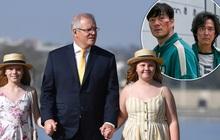 """Thủ tướng Úc tuyên bố không cho con gái xem """"Trò chơi con mực"""""""
