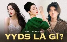 """Cụm từ hot hit xứ Trung: """"YYDS"""" là gì mà Nhiệt Ba - Phạm Băng Băng, thậm chí cả Ngô Diệc Phàm được Cnet tung hô đến vậy?"""