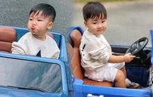 Đỉnh như quý tử hào môn nhà Hoà Minzy: 2 tuổi đã sở hữu xế hộp mui trần gắn tên riêng sang chảnh hết nấc!