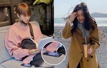 """Bị Dispatch """"khui"""" hẹn hò Yeonwoo (MOMOLAND), Lee Min Ho vẫn lộ bằng chứng yêu Kim Go Eun, chuyện gì đây?"""