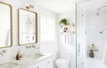 Phòng tắm nhỏ thế nào trông cũng vẫn sang chảnh nếu áp dụng 6 mẹo đánh lừa thị giác này