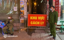 ẢNH: Cận cảnh phong toả con ngõ, hiệu thuốc sau khi Hà Nội ghi nhận 2 F0 ngoài cộng đồng